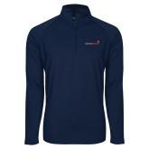 Sport Wick Stretch Navy 1/2 Zip Pullover-Childrens Health Logo