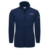 Columbia Full Zip Navy Fleece Jacket-Our Childrens House