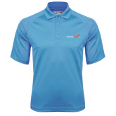 Carolina Blue Dri Mesh Pro Polo-Childrens Health Logo