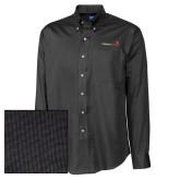 Cutter & Buck Black Nailshead Long Sleeve Shirt-Childrens Health Logo