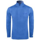Nike Sphere Dry 1/4 Zip Light Blue Pullover-Childrens Health Logo Tone