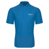 Sapphire Horizontal Textured Polo-Andrews Institute Logo