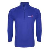 Sport Wick Stretch Royal 1/2 Zip Pullover-Childrens Health Logo