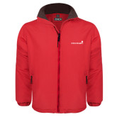 Red Survivor Jacket-Childrens Health Logo