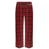 Red/Black Flannel Pajama Pant-Childrens Health Logo