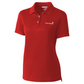 Ladies C&B Championship Red Polo-Childrens Health Logo