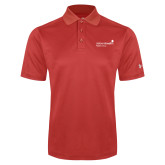 Under Armour Red Performance Polo-Pediatric Group