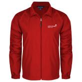 Full Zip Red Wind Jacket-Pediatric Group