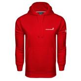 Under Armour Red Performance Sweats Team Hoodie-Childrens Health Logo