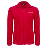 Fleece Full Zip Red Jacket-Our Childrens House