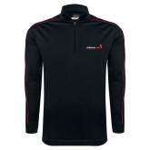 Nike Golf Dri Fit 1/2 Zip Black/Red Pullover-Childrens Health Logo