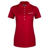 Ladies Callaway Opti Vent Red Polo-Pediatric Group