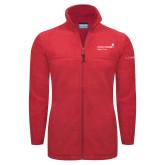 Columbia Full Zip Red Fleece Jacket-Pediatric Group