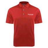 Red Dry Mesh Polo-Andrews Institute Logo