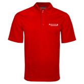 Red Mini Stripe Polo-Andrews Institute Logo