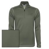 Nike Sphere Dry 1/4 Zip Olive Khaki Pullover-Childrens Health Logo Tone