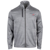 Callaway Stretch Performance Heather Grey Jacket-Childrens Health Logo