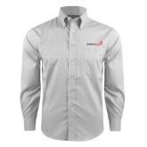 Red House Grey Plaid Long Sleeve Shirt-Childrens Health Logo