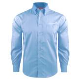 Red House Light Blue Dobby Long Sleeve Shirt-Childrens Health Logo