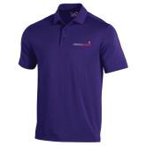 Under Armour Purple Performance Polo-Childrens Health Logo