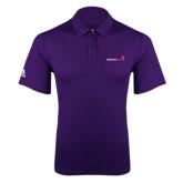 Adidas Climalite Purple Game Time Polo-Childrens Health Logo
