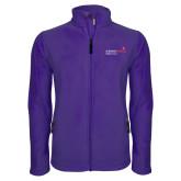 Fleece Full Zip Purple Jacket-Pediatric Group