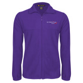 Fleece Full Zip Purple Jacket-Our Childrens House