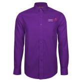 Red House Purple Long Sleeve Shirt-Pediatric Group