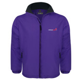 Purple Survivor Jacket-Childrens Health Logo