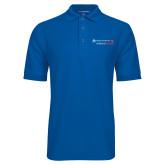 True Blue Easycare Pique Polo-Andrews Institute Logo