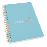 College Spiral Notebook w/Red Coil-Childrens Health Logo