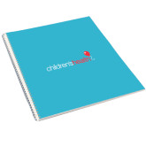 College Spiral Notebook w/Clear Coil-Childrens Health Logo