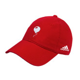 Adidas Red Slouch Unstructured Low Profile Hat-Childrens Health Red Balloon