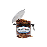 Deluxe Nut Medley Small Round Canister-Andrews Institute Logo