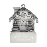 Pewter House Ornament-Andrews Institute Logo Engrave