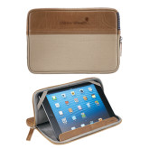 Field & Co. Brown 7 inch Tablet Sleeve-Childrens Health Logo Engrave