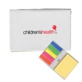 Micro Sticky Book-Childrens Health Logo