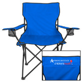 Deluxe Royal Captains Chair-Andrews Institute Logo