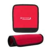Neoprene Red Luggage Gripper-Andrews Institute Logo