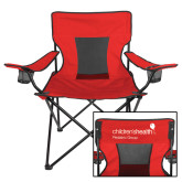 Deluxe Red Captains Chair-Pediatric Group