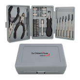 Compact 26 Piece Deluxe Tool Kit-Our Childrens House