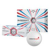 Callaway Supersoft Golf Balls 12/pkg-Childrens Health Logo