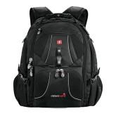 Wenger Swiss Army Mega Black Compu Backpack-Childrens Health Logo