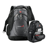 Wenger Swiss Army Tech Charcoal Compu Backpack-Childrens Health Logo