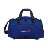 Challenger Team Navy Sport Bag-Childrens Health Logo
