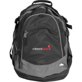 High Sierra Black Titan Day Pack-Childrens Health Logo