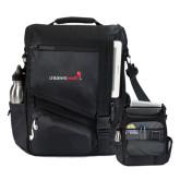 Momentum Black Computer Messenger Bag-Childrens Health Logo