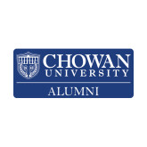 Alumni Decal-Chowan Alumni, 6in Wide