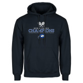 Navy Fleece Hoodie-2018 Mens Tennis Champions