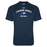 Under Armour Navy Tech Tee-Chowan Football